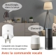 Prise connectée - Compatible Google Home et Amazon Alexa -